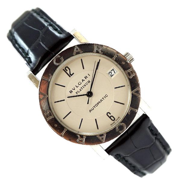 9a7180e88c49 BVLGARI ブルガリブルガリ プラチナ BB33PL 自動巻 AT 裏スケルトン   ロレックス・オメガ等高級腕時計の買取や委託販売は光柱屋へ